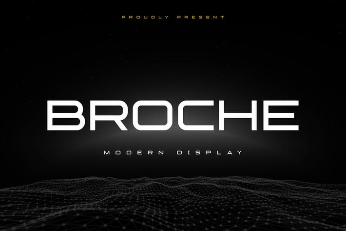 Broche - Extended Sans Display