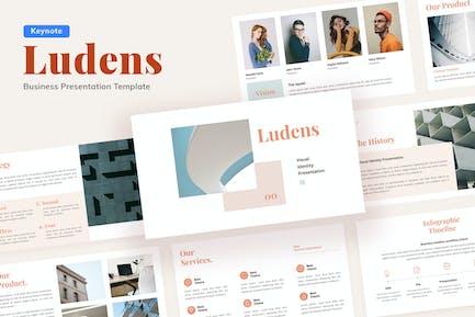 Ludens Visual Identity - Keynote