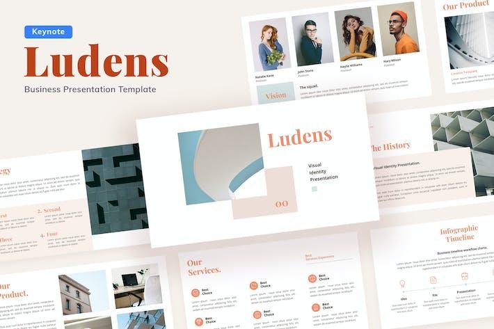 Thumbnail for Ludens Visual Identity - Keynote