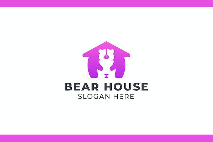 Cover Image For Bear House Logo