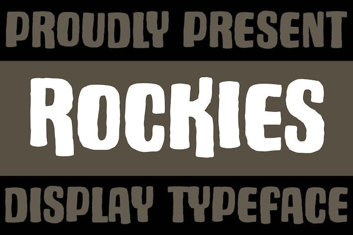 Thumbnail for Rockies Rough Font