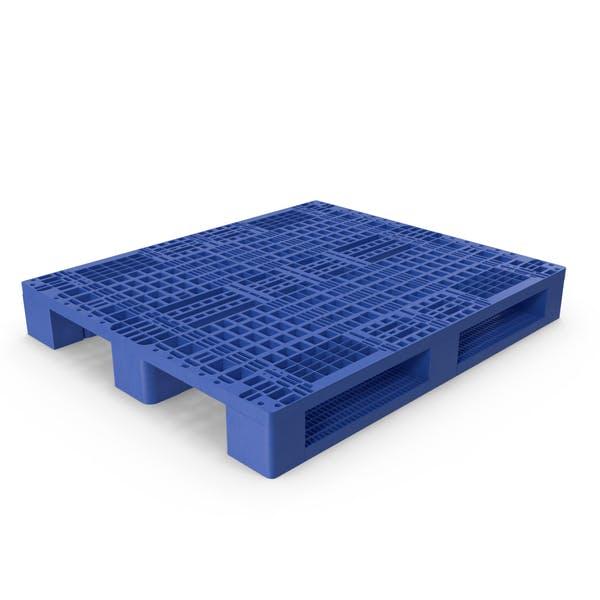 Thumbnail for Blue Plastic Pallet