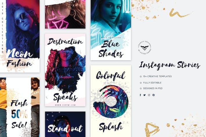 Thumbnail for Creative Instagram Stories Template