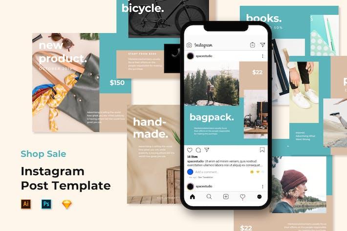 Thumbnail for Шаблоны ленты Instagram - Минималистский магазин