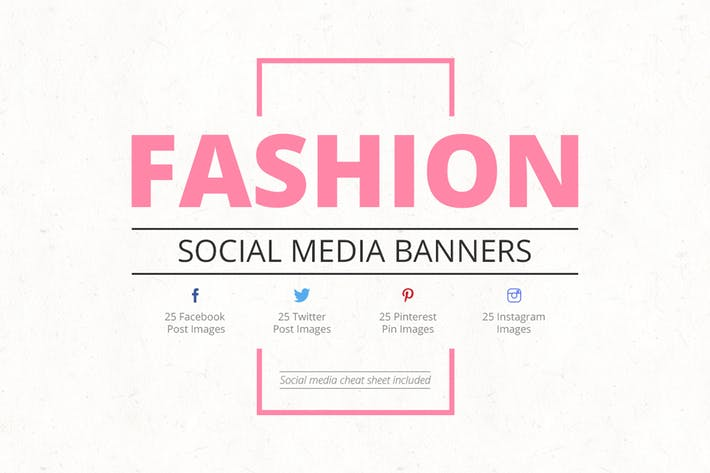 Thumbnail for Fashion Social Media Banners