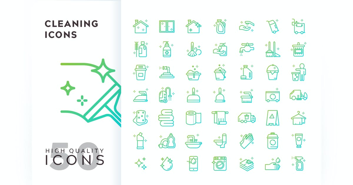 Download CLEANING OUTLINE GRADIENT by subqistd