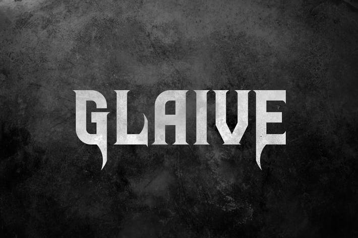 Thumbnail for Glaive Typeface