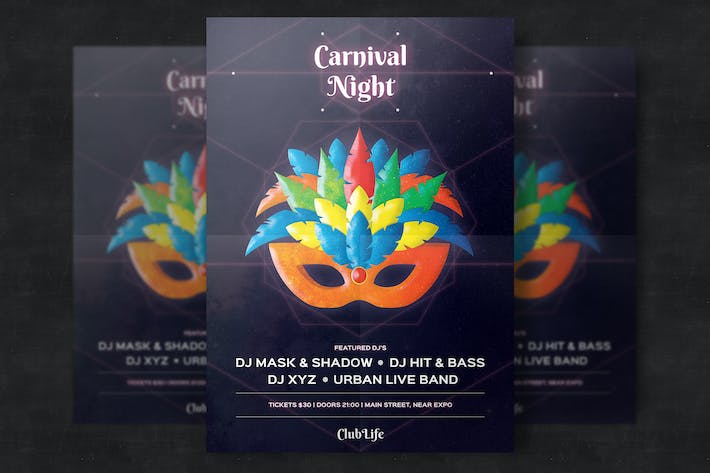 Thumbnail for Carnival Flyer Template