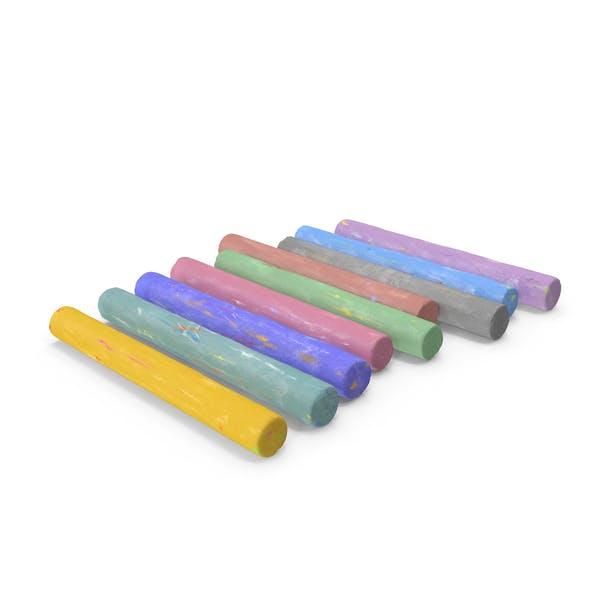 Coloured Playground Chalk