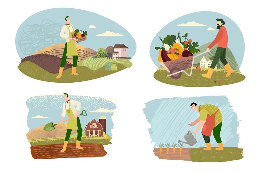 Ökologischer Landbau, Landwirtschaft und Gartenbau