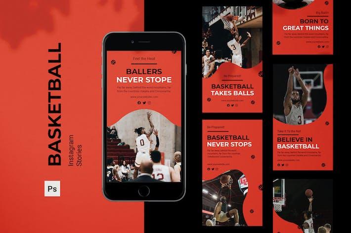 Basketball Instagram Stories