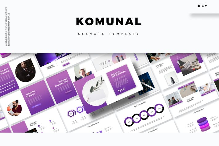 Cover Image For Komunal - Keynote Template