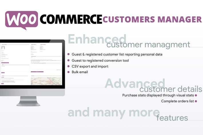 Thumbnail for WooCommerce Customers Manager