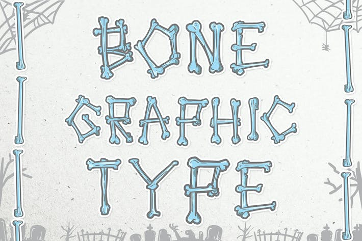 Thumbnail for Bone Graphic Type