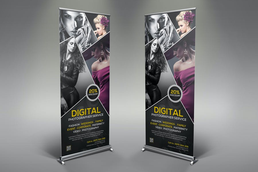 Photography Rollup Banner
