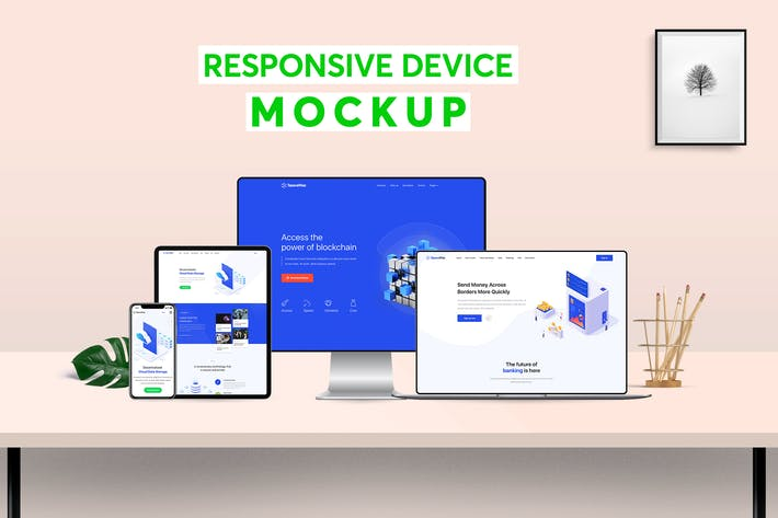 Thumbnail for Responsive Device Mockup 1.0