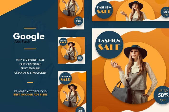 Thumbnail for Google Ads Web Banner Fashion