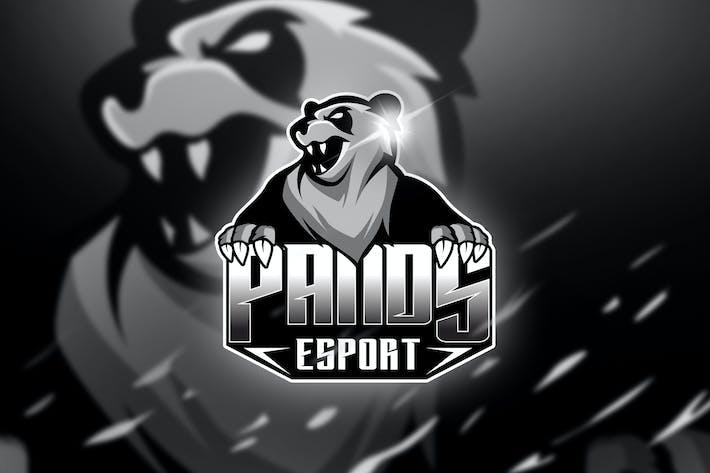 Thumbnail for Pands - Mascot & Logo Esport