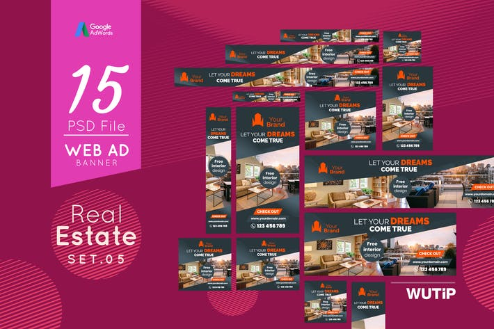 Thumbnail for Web Ad Banners - Real Estate 05