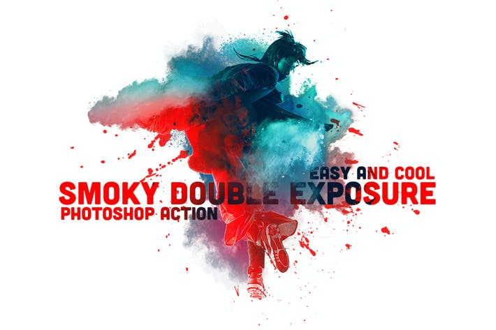 Cover Image For Smoky Double Exposure