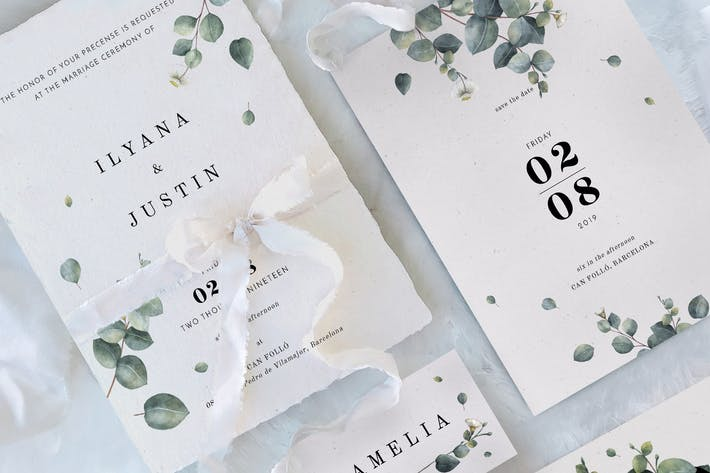 Cover Image For Eucalyptus Foliage Wedding Suite