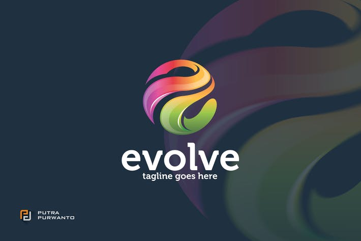 Thumbnail for Evolve / Letter E - Logo Template