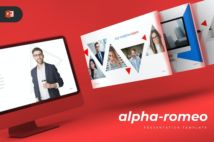 Thumbnail for Alpha-romeo - Powerpoint Template