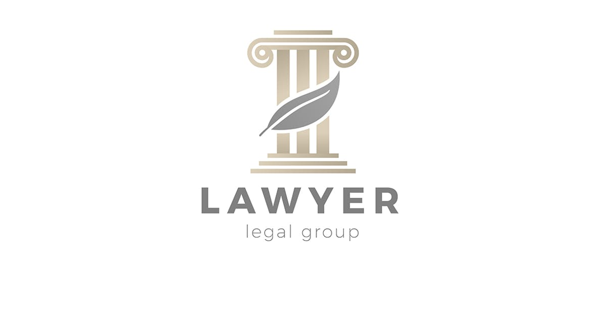 Download Lawyer Attorney at Law Legal firm Logo by Sentavio
