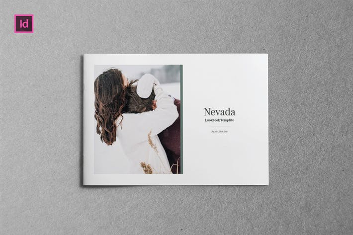 Thumbnail for NEVADA - A5 Landscape Magazine template