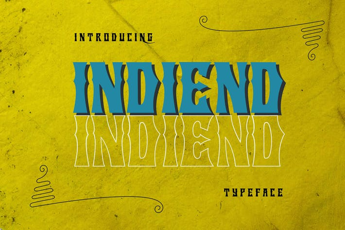 Thumbnail for TYPOGRAPHIE INDIEND