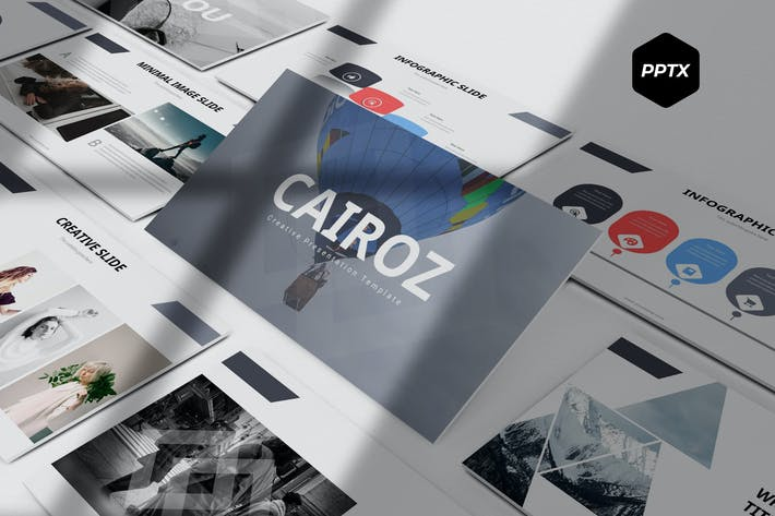 Cover Image For Cairoz - Powerpoint Template