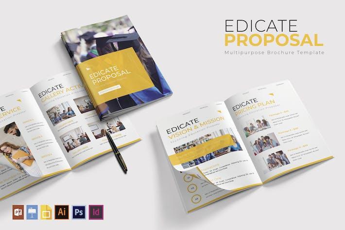Thumbnail for Edicate |  Brochure Template