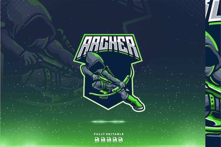Thumbnail for Archer - Maskottchen & Esport Logo