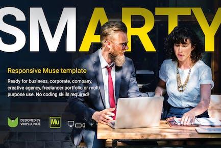 SmartY - Plantilla Multifunción de Muse Responsivo