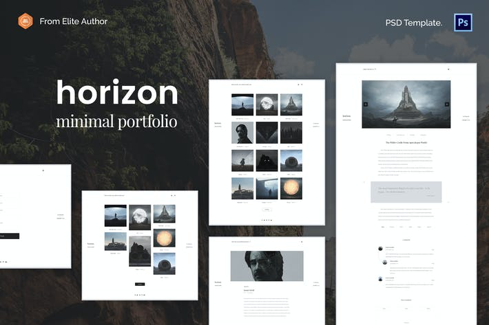 Thumbnail for Horizon - Business Partners Creative PSD Template