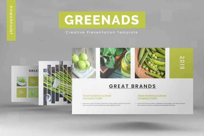 Greenads - Powerpoint Template