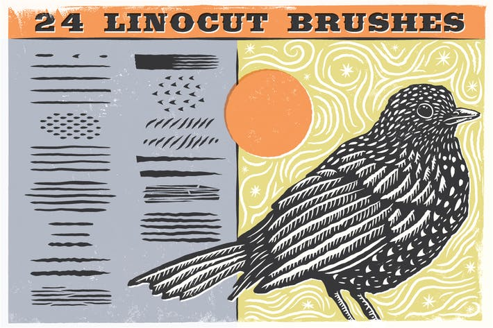 Thumbnail for Linocut Brushes