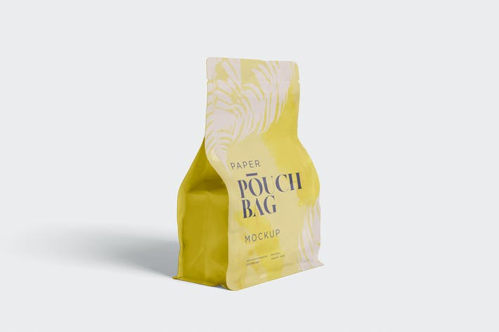 Thumbnail for Paper Pouch Bag Mockup