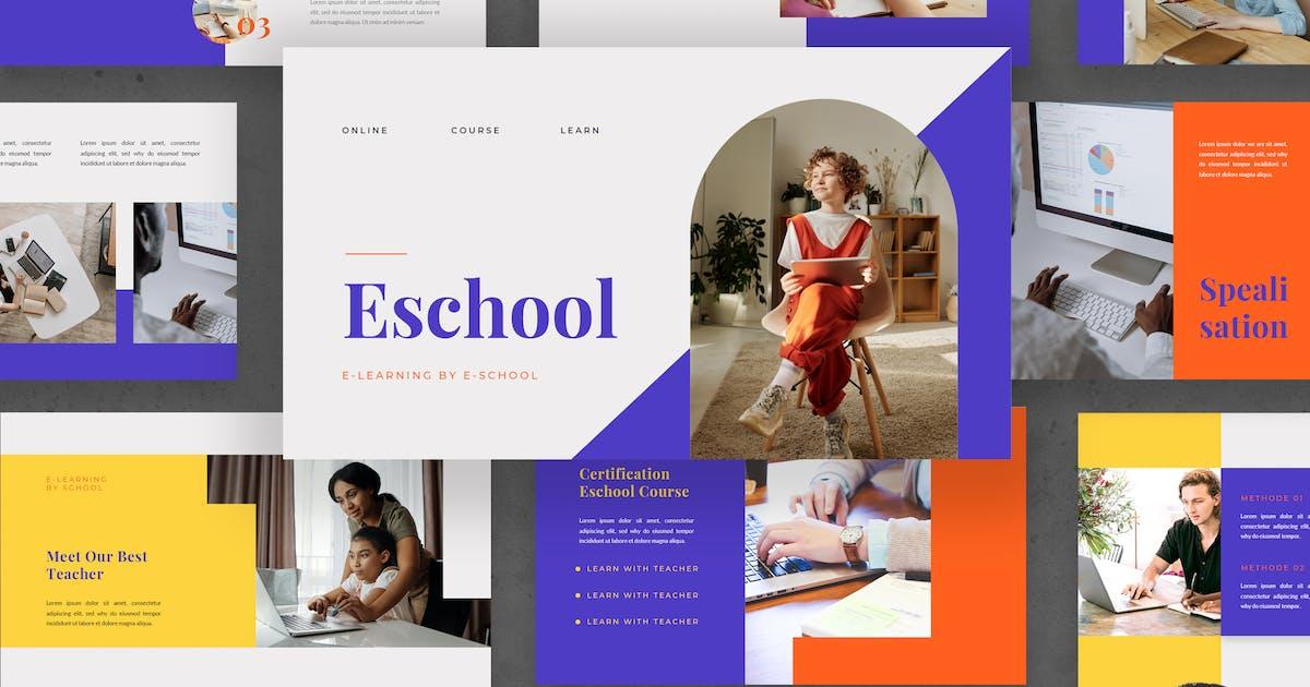 Download E-School - Presentation Template by DebutStudio