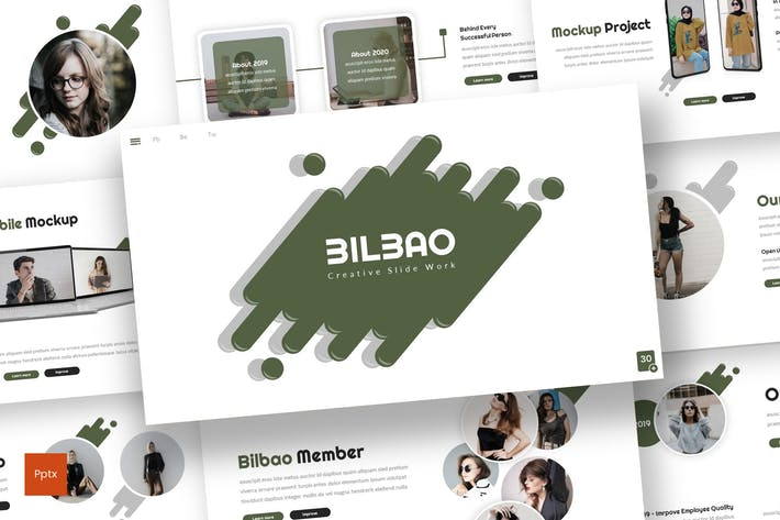 Thumbnail for Bilbao - Creative Powerpoint Template