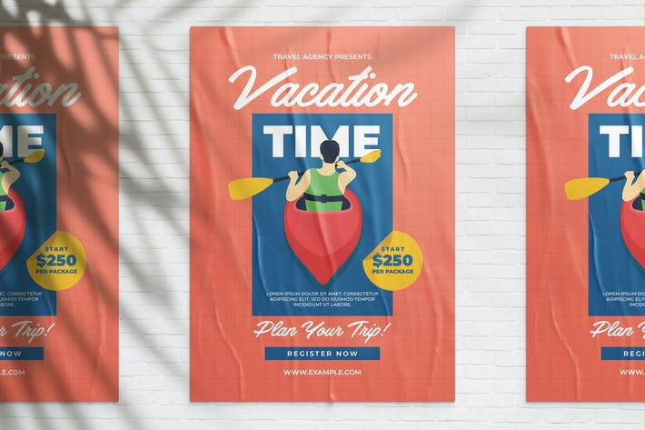 Thumbnail for Vacation Time Flyer