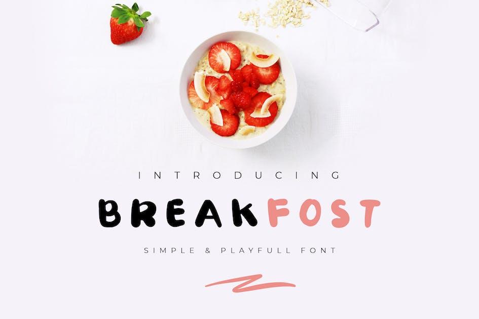 Download Break Fost Handwritten Font by TMint