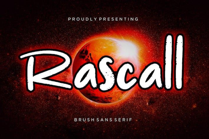 Thumbnail for Rascall Brush Sans