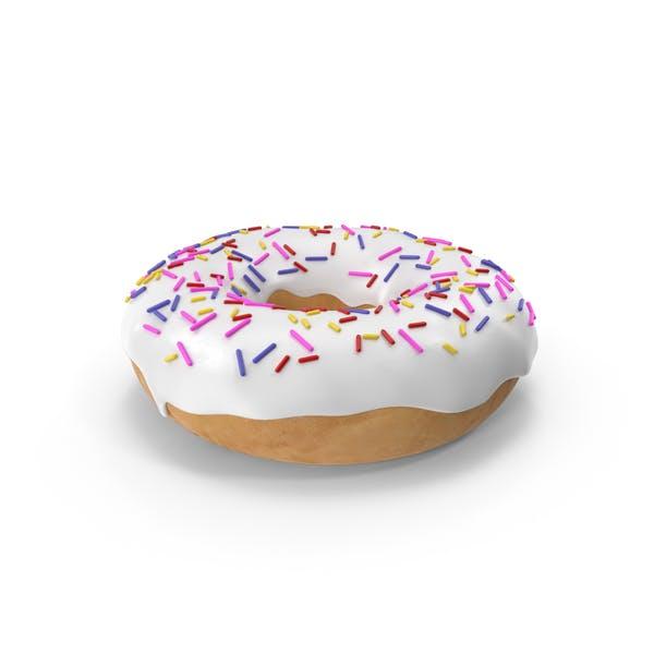 Thumbnail for Белый пончик