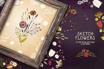 Sketch Fleurs