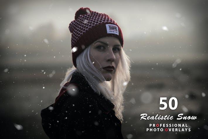 Thumbnail for 50 Реалистичные снежные фотоНаложения