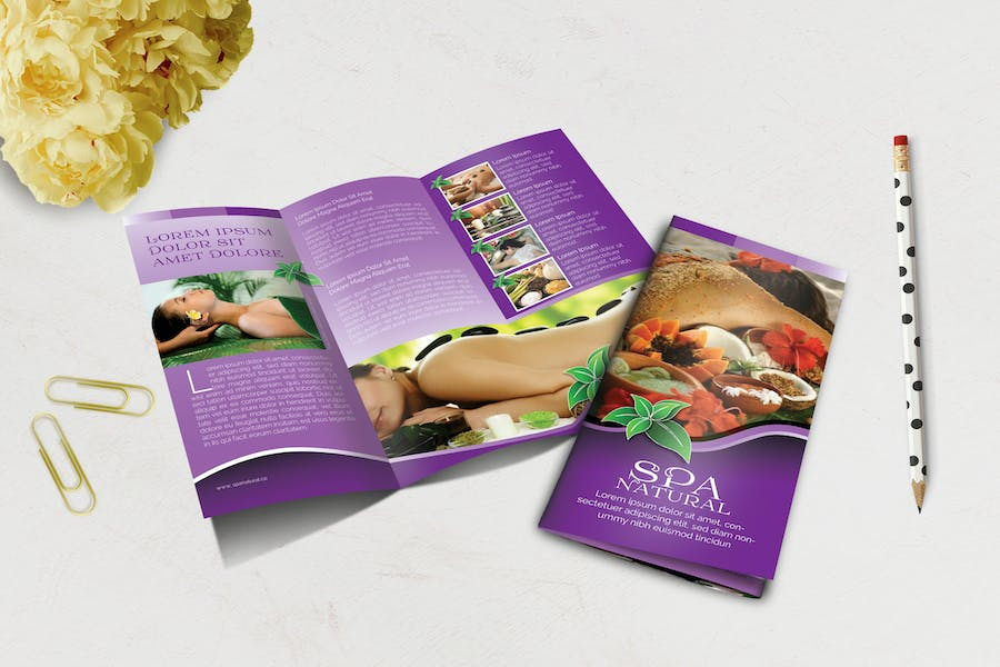 Spa Natural Brochure Trifold Vol.1