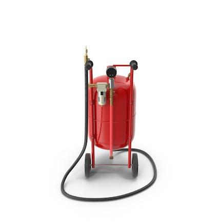 Sandblasting Machine Red
