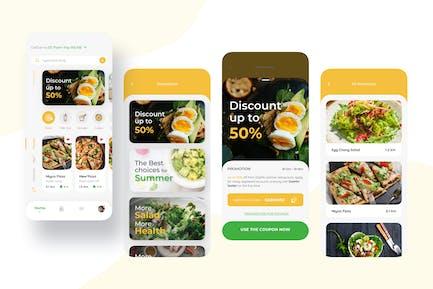 Promotion – Food Delivery Mobile UI Kit nft