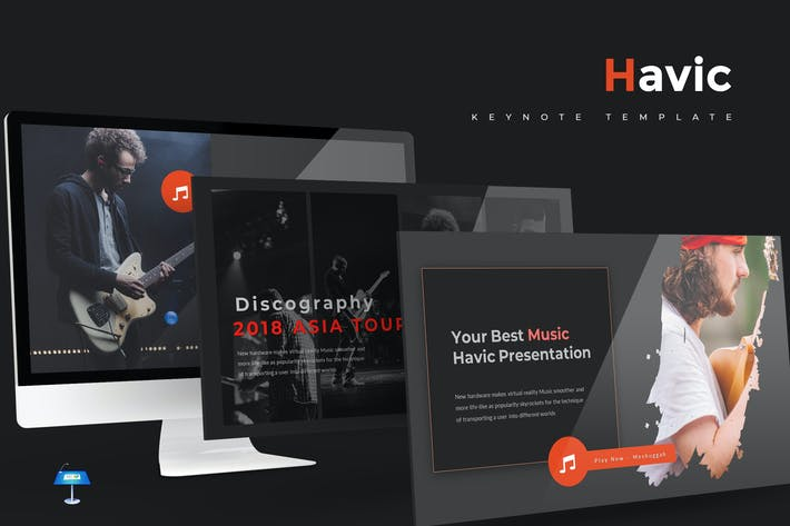 Thumbnail for Havic - Keynote Template